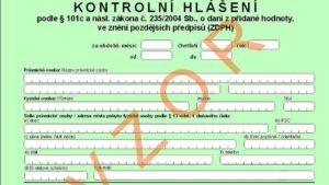 Änderungen im Formular für Kontrollmitteilungen