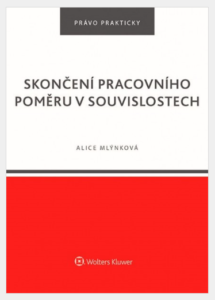 Alice Mlýnková, a lawyer in LTA, is the author of the publication Termination of Employment in Context